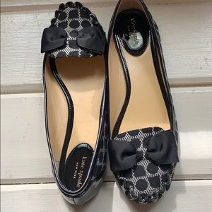 Classic Kate Spade flats.  Worn once